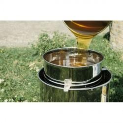 Kleines Honigsieb aus Edelstahl