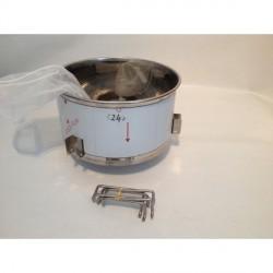 Kleiner Honig Sack-Filter für 50-100kg Abfüllbehälter