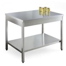 Laboratorium-tisch, aus edelstahl