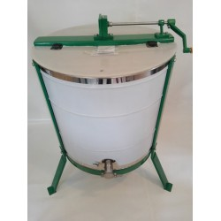 Honigschleuder handbetrieben tangential, ø 650 mm 4 waben, rostfreiem Korb