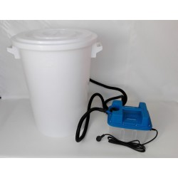 Elektronisches Dampf-Wachsschmelzgerät, 100 Liter, 230 V