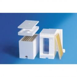 Polystyren schwarmkasten für 6 dadant-waben