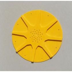 Sternförmige runde bienenflucht ø26cm, aus kunststoff, mit 8 ausgängen